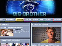 Big Brother Australia's website