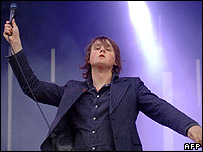 Tom Chaplin, lead singer of Keane