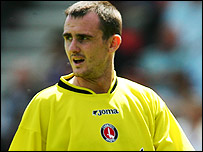 Former Charlton striker Francis Jeffers