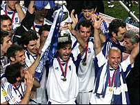 European champions Greece