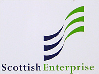 Scottish Enterprise sign
