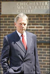 Former detective Jonathan Fox