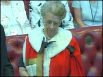 Baroness Paisley of St George's has taken her seat in the Lords