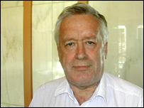 Hans von Storch.  Image: BBC