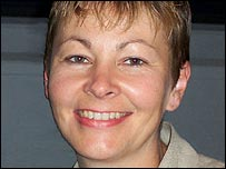 Caroline Lucas, MEP for the UK's Green Party