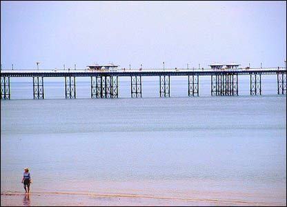 Andy Monk snapped this view of the pier at Llandudno