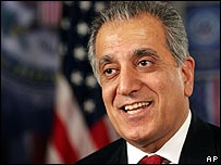 US ambassador in Iraq Zalmay Khalilzad
