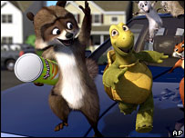 Scene from Over The Hedge