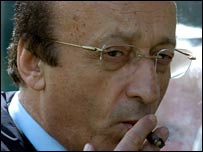 Former Juve general manager Luciano Moggi