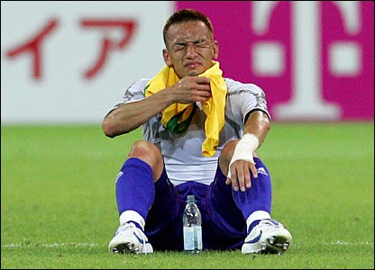 Hidetoshi Nakata end his international career