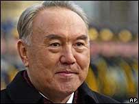 President Nursultan Nazarbayev