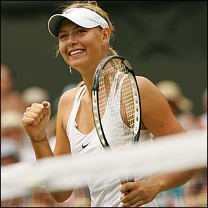 Maria Sharapova beats Elena Dementieva