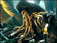 Bill Nighy as Davy Jones