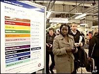 Imagen de una estación del metro en Londres