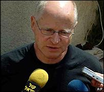 Noam, father of Cpl Gilad Shalit