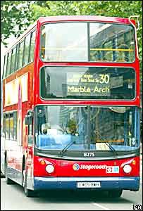 Un autobús londinense