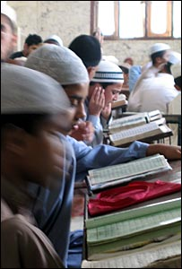 Children in madrassa