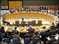 File picture of UN Security Council