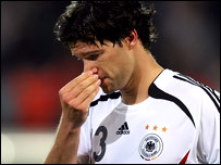 German skipper Michael Ballack