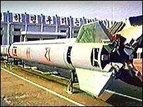 Северокорейская ракета Taepodong-2