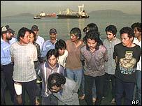 Pirates caught in Indonesia