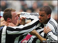 Lee Bowyer and Kieron Dyer