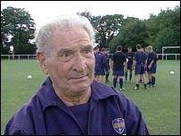 TeamBath football coach Ivor Powell