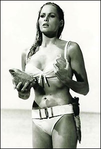 "Ursula Andress en ""Dr No"""