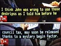 Subtitling errors
