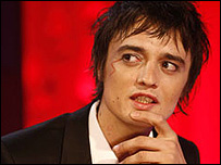 Pete Doherty on Friday Night with Jonathan Ross