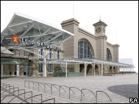 Artist's impression of the renovated King's Cross frontage
