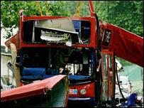 Atentado contra autobús en Londres