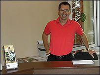 Jorg Frassa, Berlin hotelier