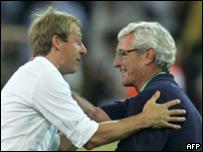 Klinsmann y Lippi