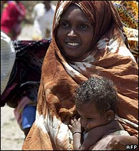 Somali refugee in Kharaz camp in Yemen
