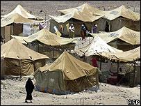 Kharaz refugee camp