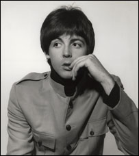 Paul McCartney by Harry Goodwin, 1965