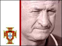 Portugal coach Luiz Felipe Scolari