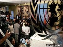 Conferencia de prensa antes de la reunión del Consejo de Seguridad de la ONU