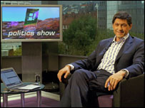 Jon Sopel Photo by Jeff Overs