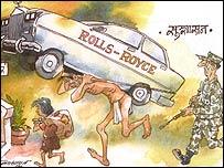 Batsyayana cartoon