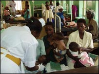 Treatment in Mbale
