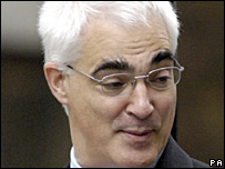 Trade and industry secretary Alistair Darling