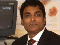 Consultant urologist Manu Nair