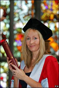 JK Rowling in Aberdeen
