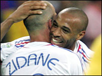 Zidane and Henry