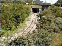 Tracks in Ebbw Vale