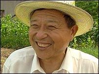 Chinese farmer Cai Jin Fu