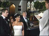 Wedding on EastEnders