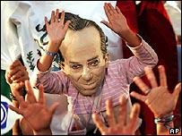 Seguidores de Felipe Calderón